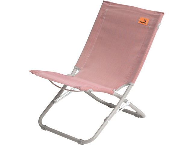 Easy Camp Wave Chaise de plage, coral red